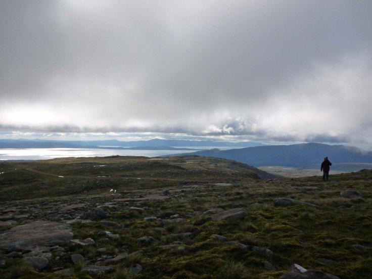 Nige Warren up in theApplecross mountains