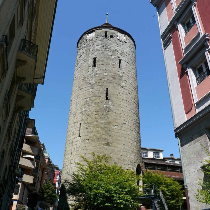 Tour de L'Ale Tower, Lausanne