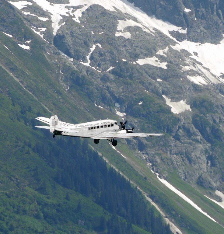 JU-52 Junkers, Murren, Switzerland, MJMcGill